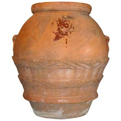 Massive Early Terracotta Olive Jar