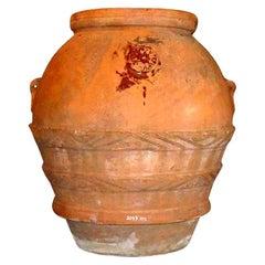 Massive Early Terracotta Olive Jar