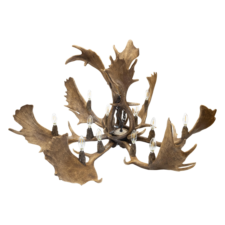 Massive Fallow Deer Chandelier