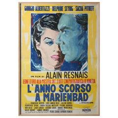 Massive International Film Poster, Framed