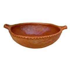 Massive Mexican Terracotta Bowl