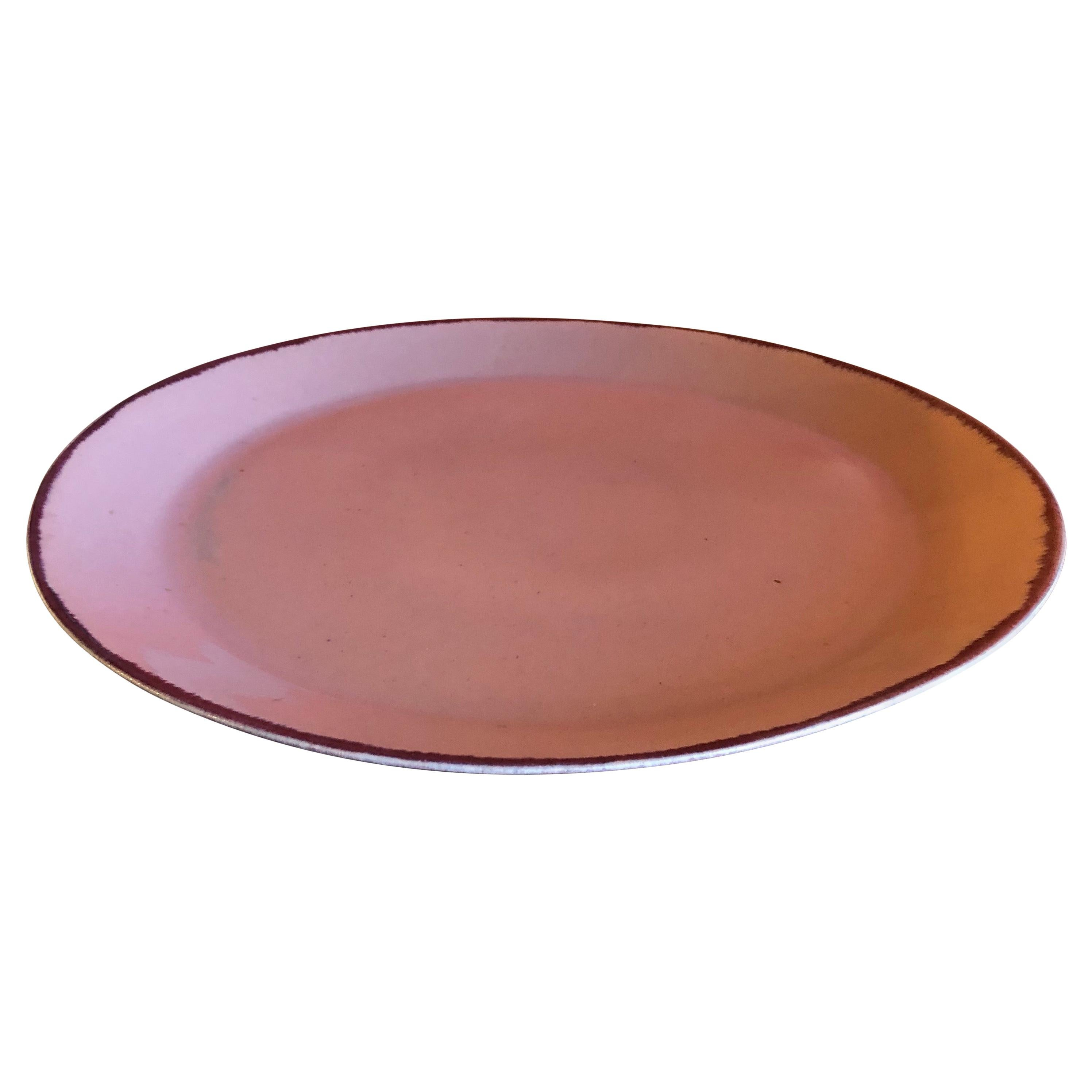 Massive Midcentury Platter by Winfield Pottery of California
