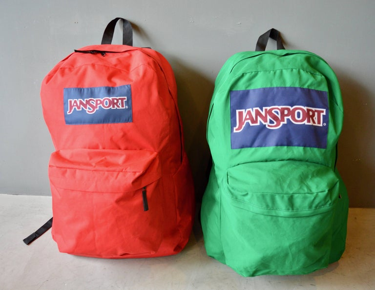 Massive Oversized Jansport Backpacks In Excellent Condition For Sale In Los Angeles, CA