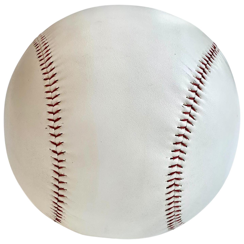 Massive Oversized Leather Baseball