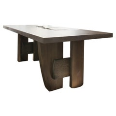 Massive Table by Charlotte Besson-Oberlin