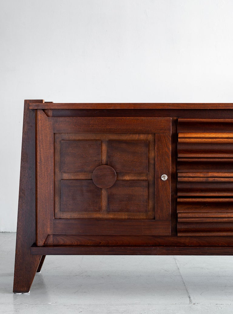 French Massive Thonet Sideboard For Sale