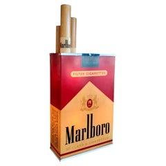 Massive Vintage Marlboro Light Up Cigarette Pack