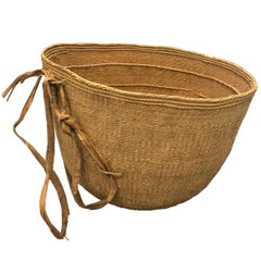 Massive Yanomami Gathering Basket