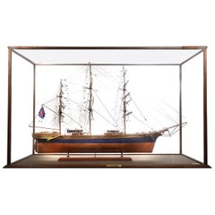 Master Built Cased Cutty Sark Scale Model
