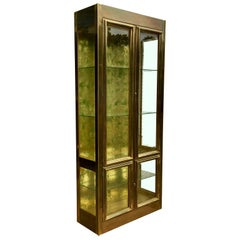 Mastercraft Brass Vitrine Display Cabinet