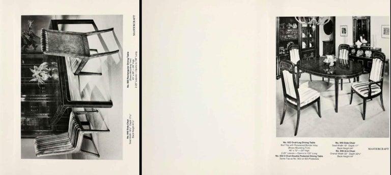 Mastercraft Carpathian Elm and Brass Sideboard For Sale 13