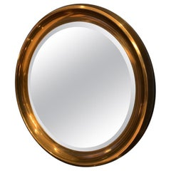 Mastercraft Circular Brass Mirror