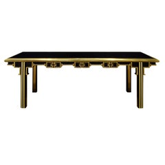 Mastercraft Exceptional Greek Key Console 1960s 'Signed'