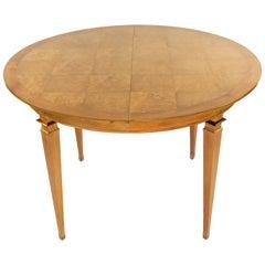 Mastercraft Mid-Century Bleached Mahogany Dining Table