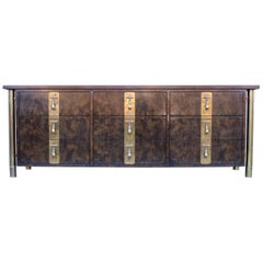 Mastercraft Nine-Drawer Dresser with Brass Hadware
