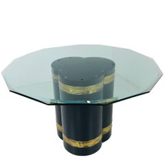 Mastercraft Clover Pedestal Dining Table