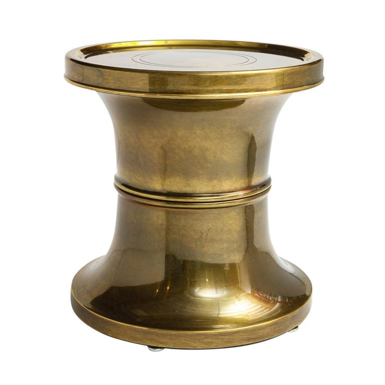 Mastercraft Side Table, Brass For Sale 3