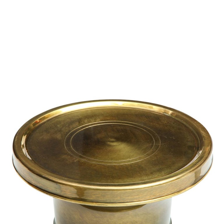 Mastercraft Side Table, Brass For Sale 4