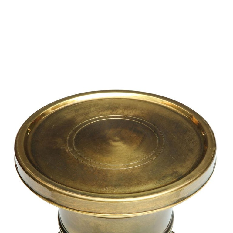 Mastercraft Side Table, Brass For Sale 5