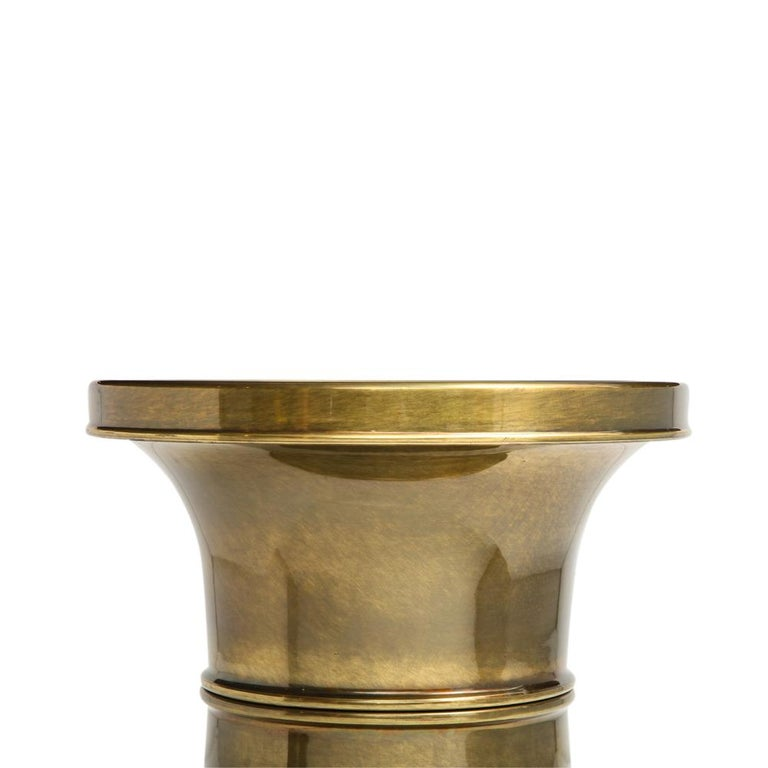 Mastercraft Side Table, Brass For Sale 7