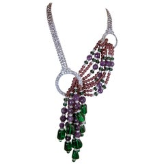 Masterful Robert Sorrell Runway Necklace Made Specifically for Jeweldiva