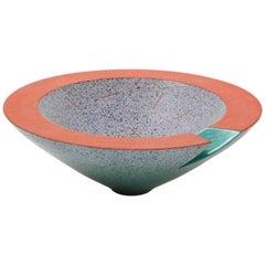 Masuo Ojima Modernist Pottery Bowl