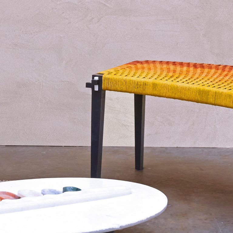 Matang & Natasha Sumant, Charpai, Bench In New Condition For Sale In Paris, FR
