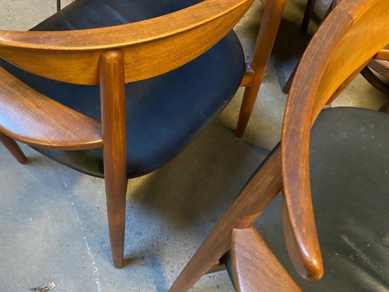 Matched Pair of Armchairs by Harry Østergaard, Denmark, Early 1960s For Sale 10
