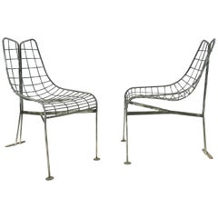 "Matched Pair of Vladimir Kagan for Kagan Dreyfuss ""Capricorn"" Lounge Chairs 1950"