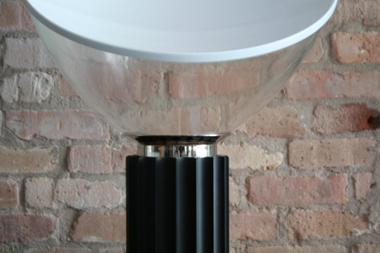 Italian Matched Pair Vintage Taccia Lamp by Pier Giacomo and Achille Castiglioni 1980s For Sale