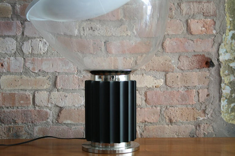 Late 20th Century Matched Pair Vintage Taccia Lamp by Pier Giacomo and Achille Castiglioni 1980s For Sale