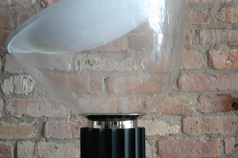 Matched Pair Vintage Taccia Lamp by Pier Giacomo and Achille Castiglioni 1980s For Sale 1