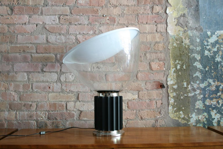 Matched Pair Vintage Taccia Lamp by Pier Giacomo and Achille Castiglioni 1980s For Sale 2