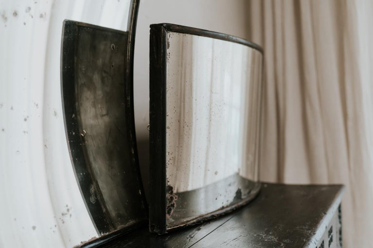 Matching Pair of 19th Century Distortion Mirrors For Sale 1