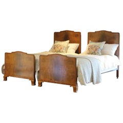 Matching Pair of Single Beds WP27