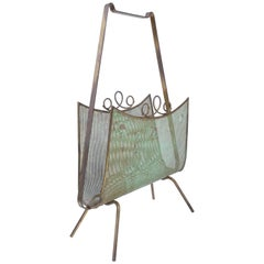 French Mategot Style Magazine Rack