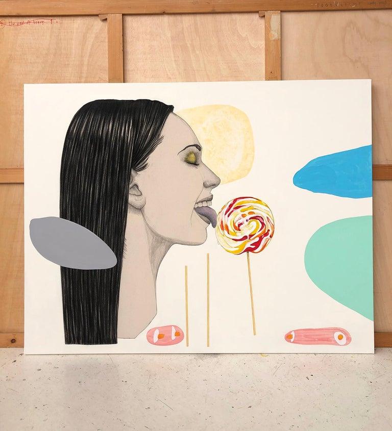 Mateo Andrea Figurative Painting - LOLLIPOP II 2020