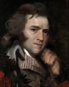 "Portrait sketch of John Williams (a.k.a. Anthony Pasquin, ""The Irish Vasari"")"