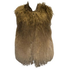 Mathew Williamson Mongolian Lamb Fur Gilet