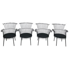 Mathieu Mategot Cap D'ail Style Set of Chair