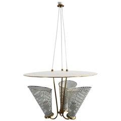 Mathieu Mategot Style Pendant Lamp
