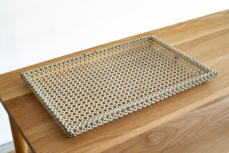 1950s French - Mathieu Mategot Perforated Tray