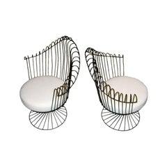 Mathieu Mategot  Wire Furniture Suite