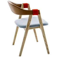 Mathilda Stackable Dining Chair by Patricia Urquiola for Moroso in Ash or Oak