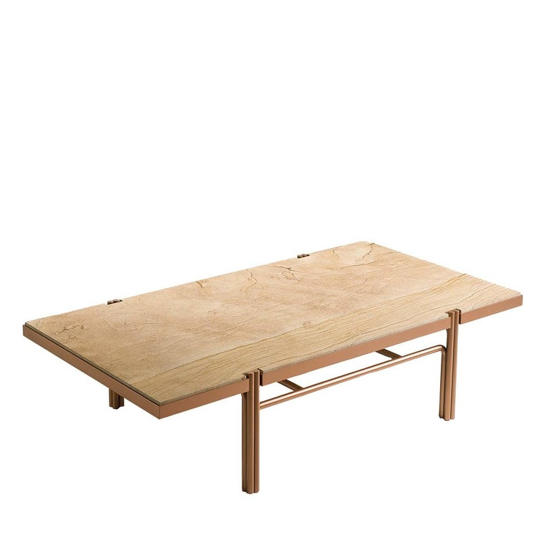 Mathilde Gold Coffee Table For Sale At 1stdibs
