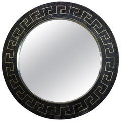 Matiland Smith Greek Key Pattern Marble Mirror