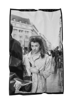 Exiles 8: Street Photograph on Garbage Bag by Matilde Damele
