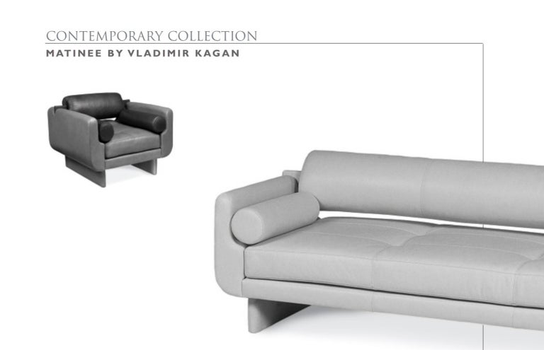 20th Century Matinee Sofa Daybed by Vladimir Kagan for American Leather For Sale