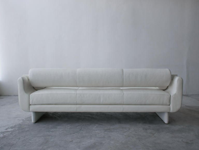 Matinee Sofa Daybed by Vladimir Kagan for American Leather For Sale 2