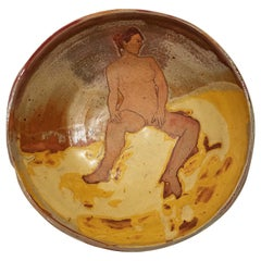 Matisse Style Pottery Ceramic Bowl